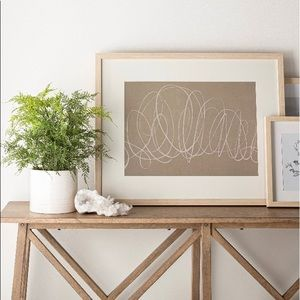 NWT Studio McGee Scribble Framed Art Print